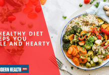 A Healthy Diet Keeps You Hale and Hearty