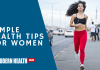 Simple Health Tips for Women