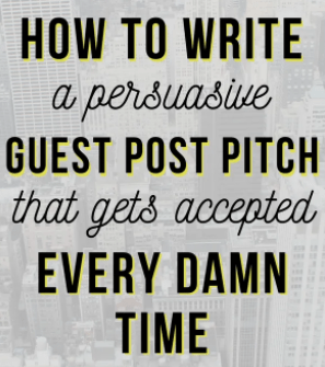 how to write a health guest post