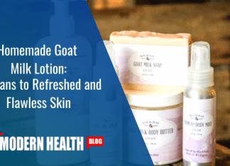 homemade goat milk lotion
