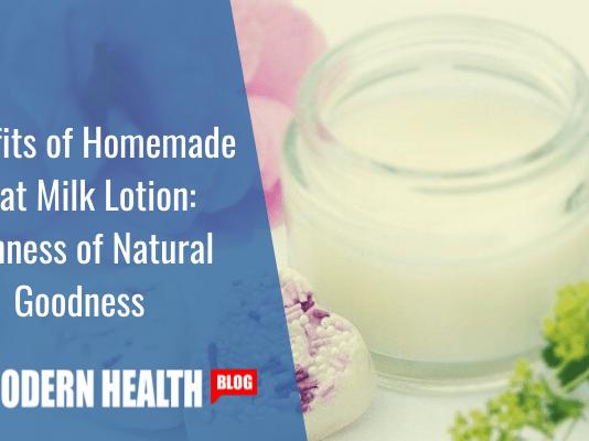 Benefits of Homemade Goat Milk Lotion